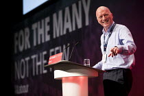 26-09-2017 - Matt Wrack, FBU speaking Labour Party Conference, Brighton 2017 © Jess Hurd