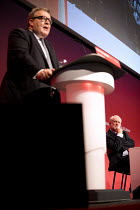 26-09-2017 - Jeremy Corbyn listening to Tom Watson speaking Labour Party Conference, Brighton 2017 © Jess Hurd