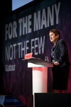 26-09-2017 - Mary Bousted, TUC & NEU speaking at Labour Party Conference, Brighton 2017 © Jess Hurd