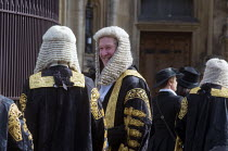 02-10-2017 - Lord Chancellors breakfast. Traditional procession of Judges to the Houses of Parliament to mark official start of year in the British legal system, London. Lord Justices of Appeal in full ceremonial... © Stefano Cagnoni