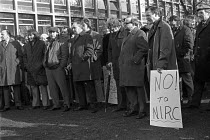 06-11-1973 - Manchester, 1973, One day protest strike against the fine of the AUEW by the National Industrial Relations Court (NIRC) for refusing to obey a court ruling in connection with a union recognition strik... © NLA