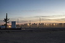 10-11-2017 - Eloy, Arizona USA, Eloy Immigration Detention Center, a private prison operated by CoreCivic, formerly the Corrections Corporation of America for Immigration and Customs Enforcement © Jim West