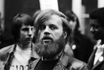 08-12-1971 - Digby Jacks NUS London, 1971, Students protest against state plans to restrict NUS autonomy © Chris Davies