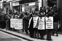 08-12-1971 - Students protest against state plans to restrict NUS autonomy, London, 1971 © Chris Davies