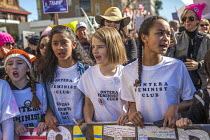 20-01-2018 - California USA Womens march protest against sexual harassment, violence against women and the presidency of Donald Trump © David Bacon