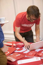10-02-2018 - Momentum stall, New Economics, Alternative Models of Ownership Labour Party conference, London © Jess Hurd