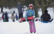 02-03-2018 - Sledging in St Andrews Park, Bristol © Paul Box
