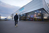15-03-2018 - Maplin electronics store closing, Stratford upon Avon, Warwickshire. The retailer, which has 2,300 employees, has entered administration © John Harris