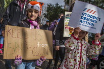 24-03-2018 - San Leandro, California USA March for Our Lives opposing gun violence and mass shootings in American schools © David Bacon
