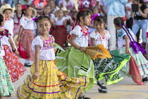 22-02-2018 - San Juan Teitipac, Oaxaca, Mexico Children performing, Zapotec Heritage Fair celebrating the culture of the region © Jim West