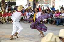 22-02-2018 - San Juan Teitipac, Oaxaca, Mexico Youth performing at a Zapotec Heritage Fair celebrating the culture of the region © Jim West