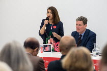 10-04-2018 - Tulip Siddiq MP and Keir Starmer MP, Camden Labour Party manifesto launch, May local government elections, London © Philip Wolmuth