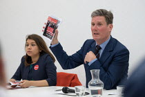 10-04-2018 - Tulip Siddiq MP and Keir Starmer MP. Camden Labour Party manifesto launch for the May local government elections. © Philip Wolmuth