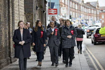 29-04-2018 - Sadiq Khan campaigning with Dr Rosena Allin-Khan MP and Harriet Harman MP, Labour Party local election campaign, Earlsfield ward, Wandsworth, London © Jess Hurd