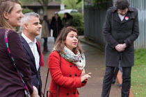 02-05-2018 - Tulip Siddiq MP. Labour Party local election campaign, Fortune Green, West Hampstead and Swiss Cottage wards, London Borough of Camden. © Philip Wolmuth