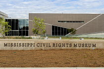 24-04-2018 - Jackson, Mississippi, USA: The Mississippi Civil Rights Museum. History of the American Civil Rights Movement in the state of Mississippi between 1945 and 1970 © Jim West