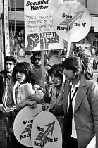13-07-1979 - Young women protest against racism, Southall, London © John Sturrock