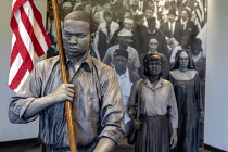 20-04-2018 - White Hall, Alabama USA: The Voting Rights Trail Interpretive Center, the story of the civil rights movement and the struggle for the right to vote by African Americans. The Center is run by the Natio... © Jim West