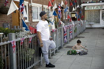 18-05-2018 - East End street party for the Royal wedding of Prince Harry and Meghan Markle, London © Jess Hurd