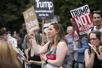 12-07-2018 - Protest against Donald Trump visiting the UK, Regents Park, London © Jess Hurd