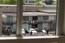 25-04-2018 - Memphis, Tennessee USA The National Civil Rights Museum at the Lorraine Motel, where Martin Luther King was assassinated in 1968. The view of Room 306 where King died from the boarding house across th... © Jim West