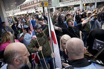 01-09-2018 - EDL national protest Worcester, against a potential mosque © Jess Hurd