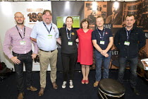 10-09-2018 - FBU Stand at TUC Congress, Manchester 2018 © Jess Hurd