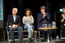 22-09-2018 - John McDonnell, Dalia Gebrial, Gary Anderson, Lindsey McDowell FBU, The World Transformed, Labour Party Conference, Liverpool © John Harris