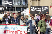 29-09-2018 - Labour Councillors Against the Cuts, Protest against Austerity cuts ahead of the Conservative Party Conference, Birmingham © John Harris