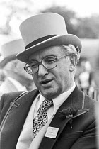 17-06-1980 - Sir Arnold Weinstock, industrialist, GEC managing director and racehorse owner, Ascot Races 1980 © Peter Arkell