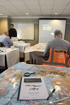 27-04-2018 - Drone Pilot Academy training drone pilots for their Commercial CAA licence, Milton Keynes © Paul Box