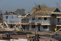 27-02-2019 - Persimmon housebuilding, Wellesbourne, Warwickshire. Persimmon enjoyed a 31% operating profit margin subsidised by the help-to-buy scheme © John Harris