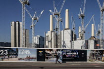 26-02-2019 - Battersea Power Station development, Nine Elms regeneration zone, London. The zone will include two new tube stations, the new US Embassy building and 20,000 new homes with prices up to ?million © Philip Wolmuth