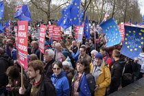 23-03-2019 - People's Vote march, London. For a second EU referendum © Philip Wolmuth