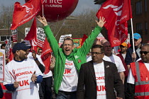 30-03-2019 - Stand together for Honda Swindon protest against the closure of the Honda car factory and the loss of 15,000 jobs, Swindon. Unite the Union © John Harris