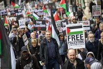 11-05-2019 - Kevin Courtney, NEU National Demonstration for Palestine, London © Jess Hurd