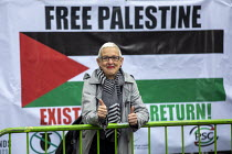 11-05-2019 - Gail Cartmail, UNITE, National Demonstration for Palestine, London © Jess Hurd