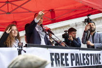 11-05-2019 - Ahed Tamimi, National Demonstration for Palestine, London © Jess Hurd