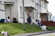 15-05-2019 - Housing estate poverty, Merthyr Tydfil, South Wales © John Harris