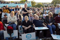 15-05-2019 - Supporters, Brexit Party Rally, Merthyr Tydfil, South Wales © John Harris
