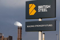 22-05-2019 - British Steel Scunthorpe. Greybull Capital has put British Steel into receivership. Lincolnshire © John Harris