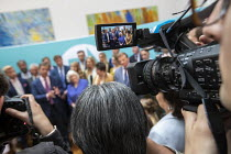 27-05-2019 - Brexit Party victory press conference, Nigel Farage, Anne Widdecombe and other MEPs, European Elections, London © Jess Hurd