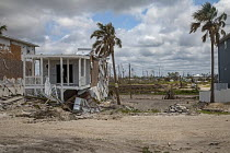 09-05-2019 - Mexico Beach, Florida, USA: destruction from Hurricane Michael 7 months after the storm hit the Florida Panhandle © Jim West