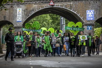 14-06-2019 - Grenfell fire 2nd anniversary memorial procession from St Helen's Church, Kensington, London © Jess Hurd