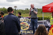 15-06-2019 - Matt Wrack, Orgreave 35th Anniversary Rally, Orgreave, Sheffield, South Yorkshire © John Harris