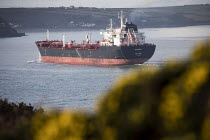 03-05-2017 - Oil Tanker underway from Valero Oil Refinery, Rhoscrowther, Pembroke, Pembrokeshire © Paul Box