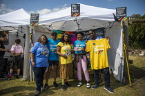 07-07-2019 - NEU Stall, UK Black Pride, Haggerston Park, East London © Jess Hurd