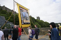 13-07-2019 - Banners, 2019 Durham Miners Gala © Mark Pinder