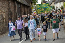 21-07-2019 - RMT members, Tolpuddle Martyrs Festival, Dorset. © Jess Hurd