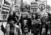 28-10-1979 - Womens Liberation March 1979 against the Corrie Bill, London © Ian McIntosh